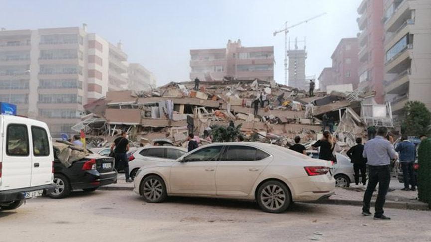 izmir'de deprem